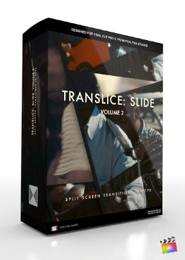 Final Cut Pro X Transition Translice Slide Volume 2 from Pixel Film Studios