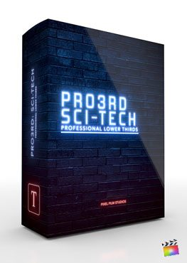 Final Cut Pro X Plugin Pro3rd SciFi Tech from Pixel Film Studios