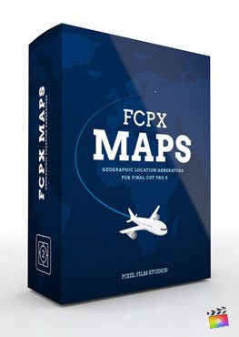 Final Cut Pro X Plugin FCPX Maps from Pixel Film Studios