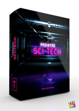 Final Cut Pro X Plugin ProIntro SciFi Tech from Pixel Film Studios