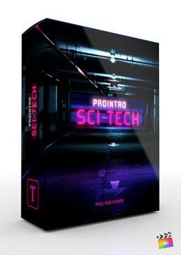 Final Cut Pro X Plugin ProIntro SciFi Tech from Pixel Film Studios