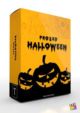 Final Cut Pro X Plugin Pro3rd Halloween from Pixel Film Studios