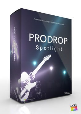 Final Cut Pro X Plugin ProDrop Spotlight from Pixel Film Studios