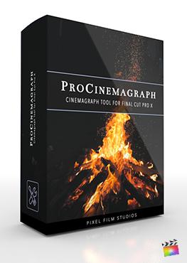 Final Cut Pro X plugin ProCinemagraph from Pixel Film Studios