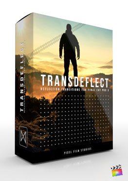 Final Cut Pro X plugin TransDeflect from Pixel Film Studios