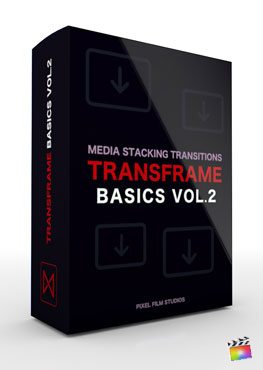 Final Cut Pro X Plugin TransFrame Basics Volume 2 from Pixel Film Studios