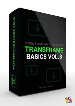 Final Cut Pro X plugin TransFrame Basics Volume 3 from Pixel Film Studios