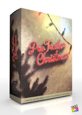 Final Cut Pro X plugin ProTrailer Christmas from Pixel Film Studios
