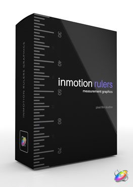 Motion 5 plugin plugin inMotion Rulers from Pixel Film Studios