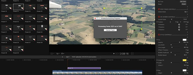 Pin Markers for FCPX