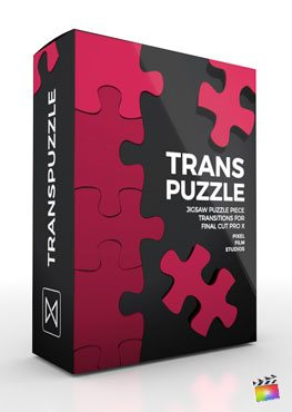 Final Cut Pro X Transition TransPuzzle from Pixel Film Studios