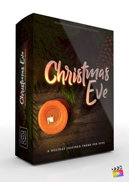 Final Cut Pro X theme Christmas Eve