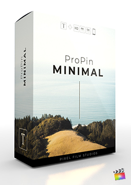 Final Cut Pro X Plugin ProPin Minimal from Pixel Film Studios