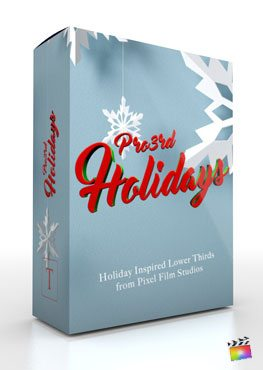 Final Cut Pro X Plugin Pro3rd Holidays from Pixel Film Studios