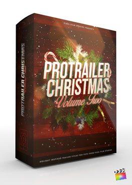 Final Cut Pro X Plugin ProTrailer Christmas Volume 2 from Pixel Film Studios