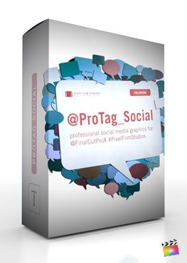 Final Cut Pro X Plugin ProTag Social from Pixel Film Studios