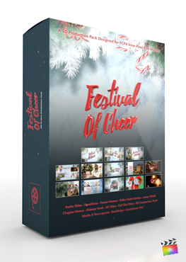 Final Cut Pro X Plugin Festival of Cheer Production Package from Pixel Film Studios