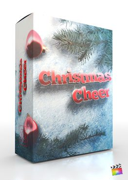 Final Cut Pro X Theme Christmas Cheer from Pixel Film Studios