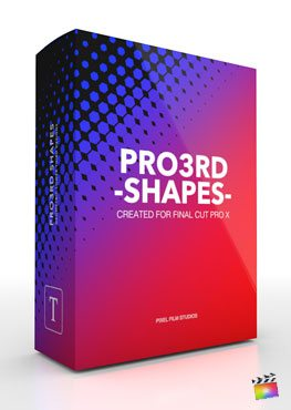 Final Cut Pro X plugin Pro3rd Shapes from Pixel Film Studios