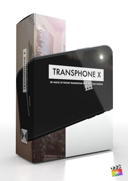 Final Cut Pro X Transitions TransPhone X from Pixel Film Studios