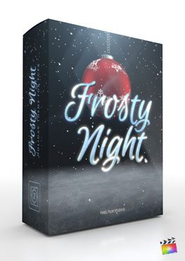Final Cut Pro X Plugin Frosty Night from Pixel Film Studios