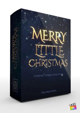 Final Cut Pro X Theme Merry Little Christmas from Pixel Film Studios