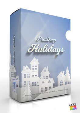 Final Cut Pro X plugin ProDrop-Holidays from Pixel Film Studios