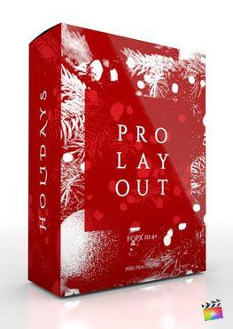 ProLayout Holidays