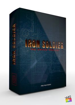 Final Cut Pro X Theme Iron Soldier from Pixel Film Studios