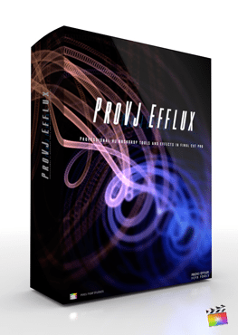 Final Cut Pro X Generators ProVJ Efflux from Pixel Film Studios