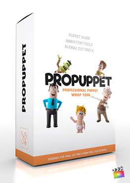 Final Cut Pro X Plugin ProPuppet from Pixel Film Studios