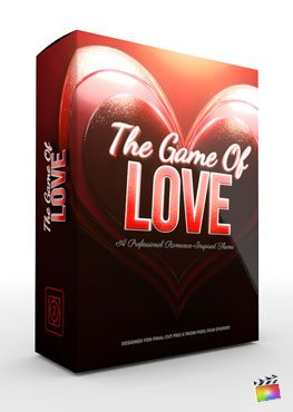 Final Cut Pro X Theme Game of Love from Pixel Film Studios