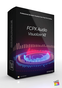 Final Cut Pro X Tools FCPX Audio Visualizer Volume 2 from Pixel Film Studios