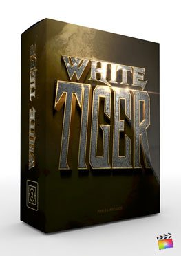Final Cut Pro X Theme White Tiger from Pixel Film Studios