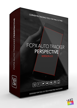 Final Cut Pro X Plugins FCPX Auto Tracker Perspective 2.0 from Pixel Film Studios