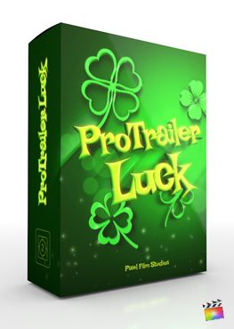 Final Cut Pro X plugin ProTrailer Luck from Pixel Film Studios