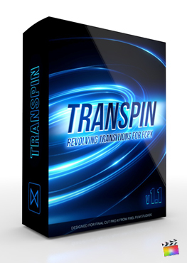 Final Cut Pro X Plugin TranSpin 1.1 from Pixel Film Studios