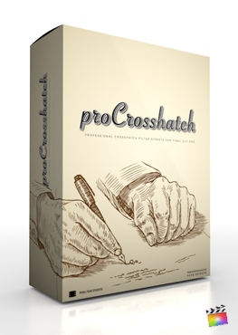 Final Cut Pro X Plugin ProCrosshatch from Pixel Film Studios