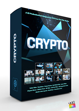 Final Cut Pro X Plugin Crypto 3D Production Package from Pixel Film Studios