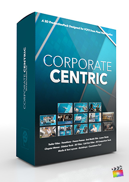 Final Cut Pro X Plugin Corporate Centric 3D Production Package from Pixel Film Studios