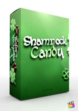 Final Cut Pro X Theme Shamrock Candy from Pixel Film Studios