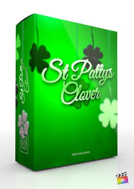 Final Cut Pro X Theme St. Pattys Clover from Pixel Film Studios