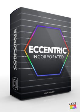 Final Cut Pro X Plugin Eccentric Incorporated from Pixel Film Studios