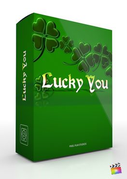 Final Cut Pro X Theme Lucky You from Pixel Film Studios