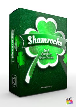 Final Cut Pro X Theme Shamrocks from Pixel Film Studios