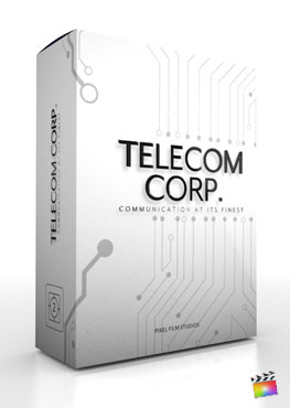 Final Cut Pro X Theme Telecom Corp. from Pixel Film Studios