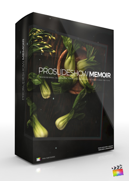 Final Cut Pro X Plugin ProSlideshow Memoir from Pixel Film Studios
