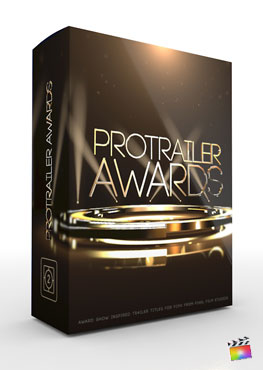 Final Cut Pro X Plugin ProTrailer Awards from Pixel Film Studios