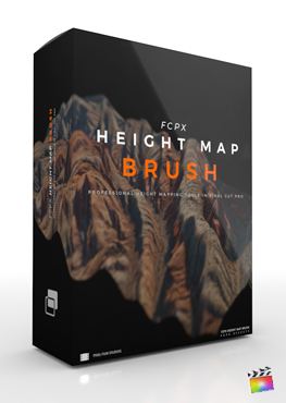 Final Cut Pro X Plugin FCPX Height Map Brush from Pixel Film Studios