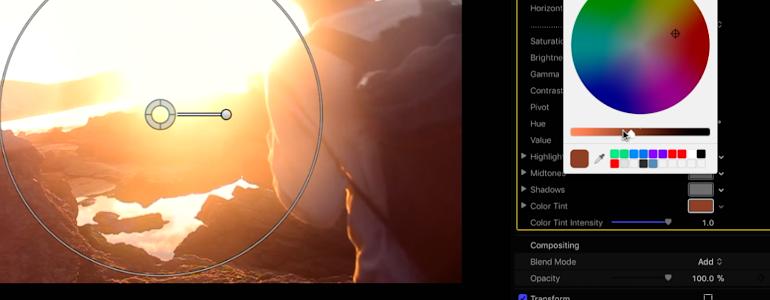 Final Cut Pro X Plugin ProFlare 5K Lomo from Pixel Film Studios